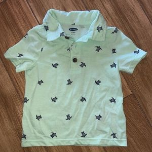 Old Navy Turtle Polo